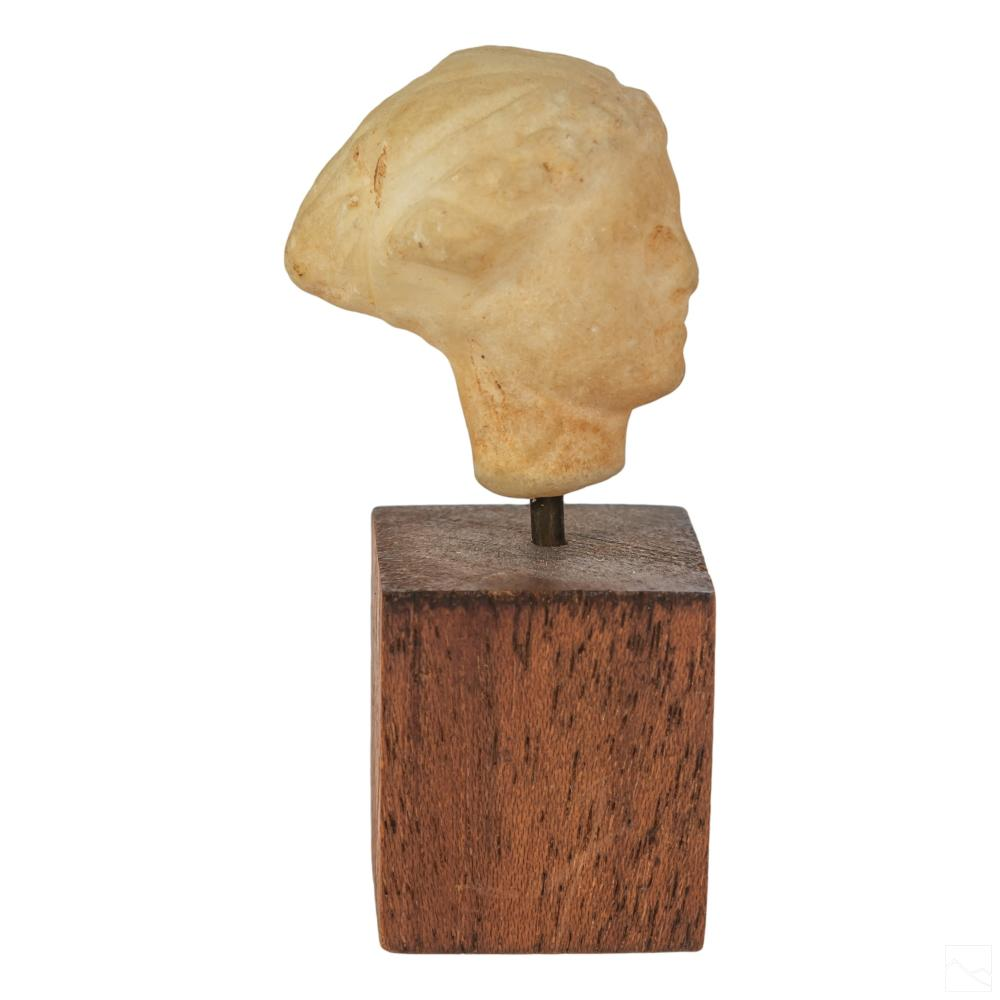 Hellenistic Ancient Greek Carved Marble Sculpture