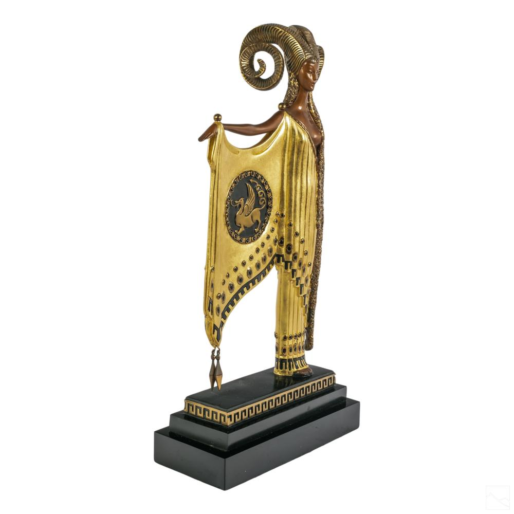 Erte (1892-1990) Bronze GOLDEN FLEECE Sculpture