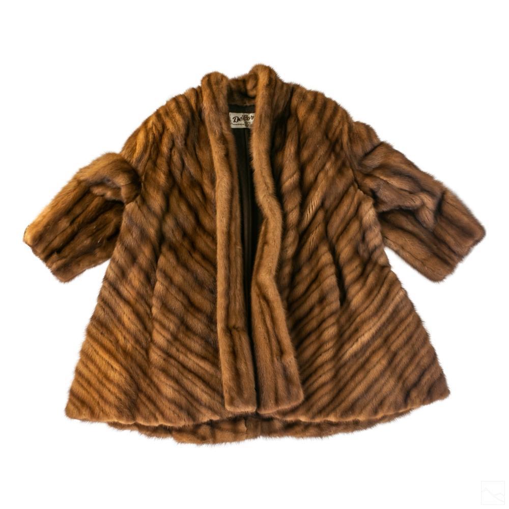 Morgenstien Hammer Ladies Designer Mink Fur Coat