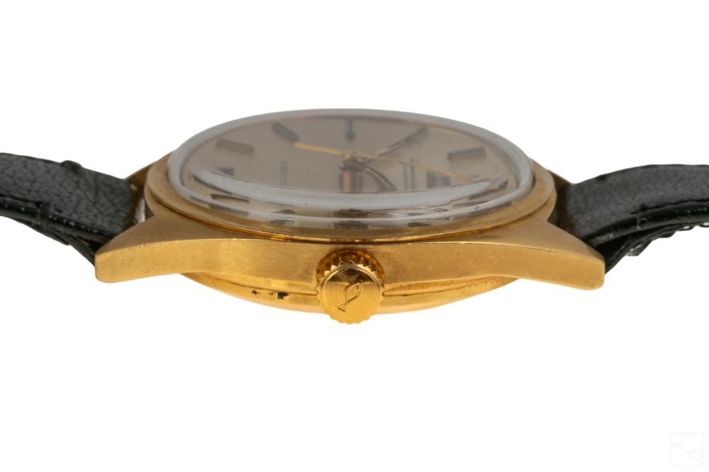 18K Gold IWC 12 Jewel Mens Wristwatch Ref #2190180