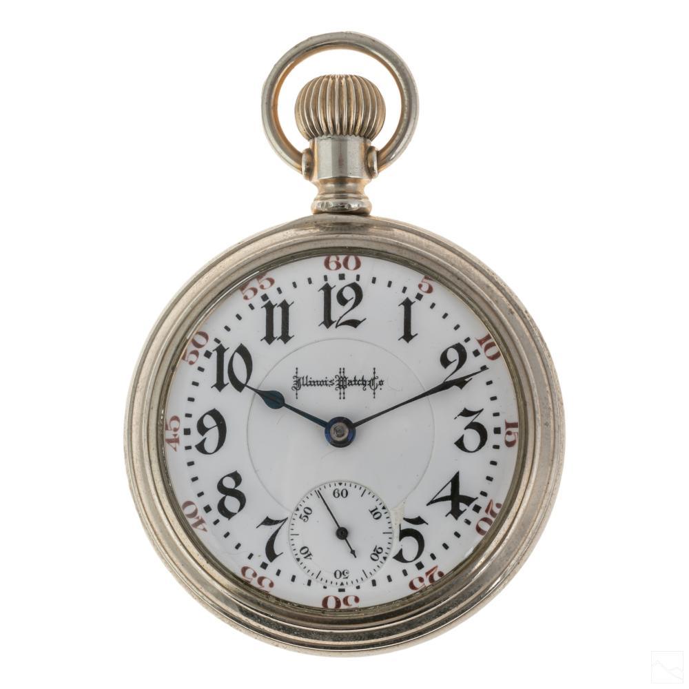 Fine Illinois Bunn Special 21 Jewel Pocket Watch