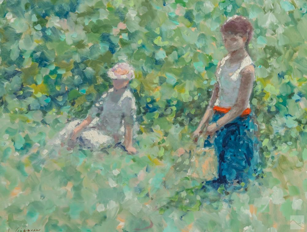 Andre Gisson 1921-2003 Impressionist Oil Painting