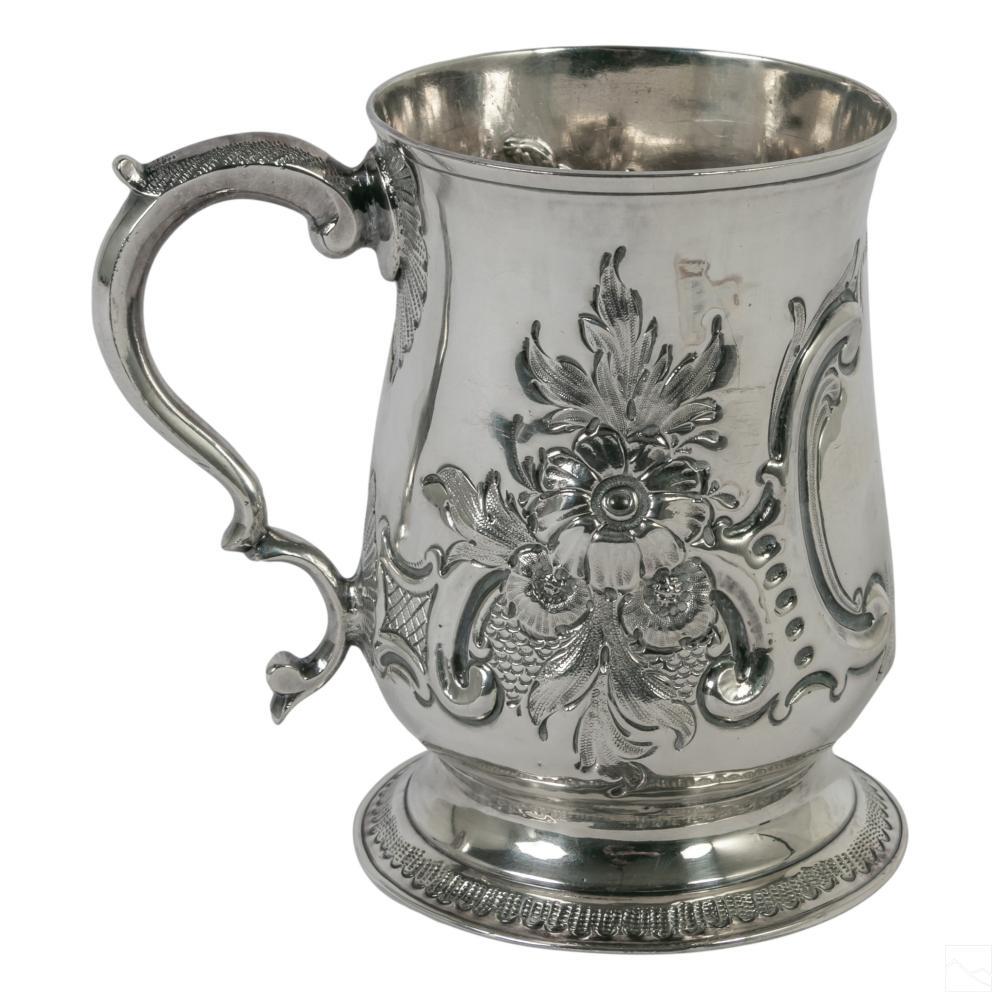 English Sterling Silver George III (18C.) Mug 160g