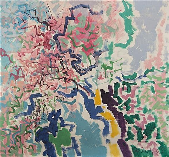 Gabor F. Peterdi, (American, 1915-2001), Spring II, 1965