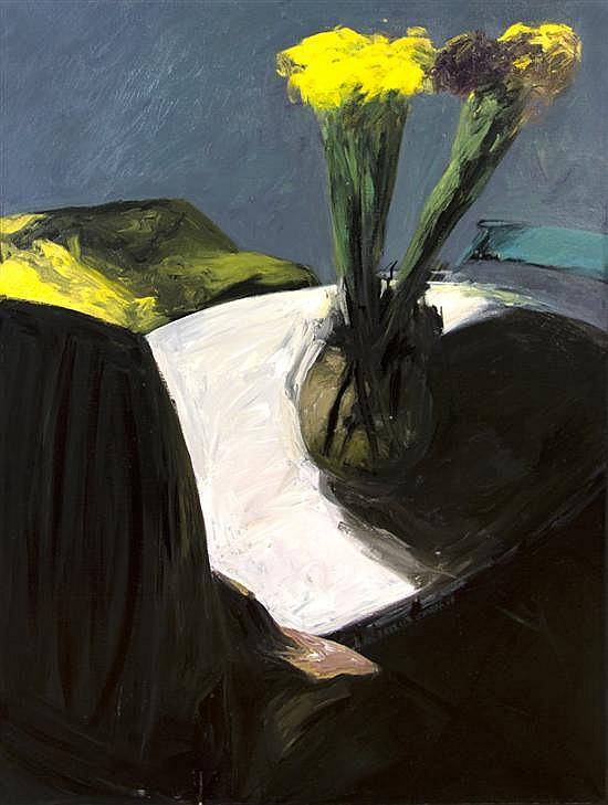 Patrice Giorda, (French, b. 1952), Les Iris #3, 1985