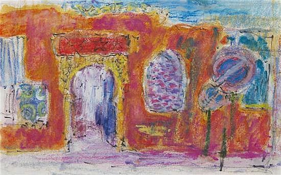 George Frederick Buehr, (American, 1905-1983), Middle East Doorway