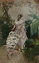 Jose Jimenez y Aranda, (Spanish, 1837-1903), Afternoon Walk, Jose Jimenez Aranda, Click for value