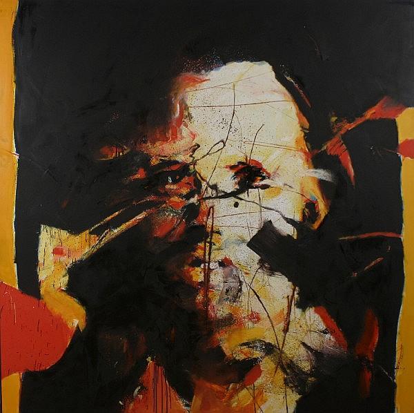 Jean-Paul Chambas, (French, b. 1947), Portrait of Jim Morrison