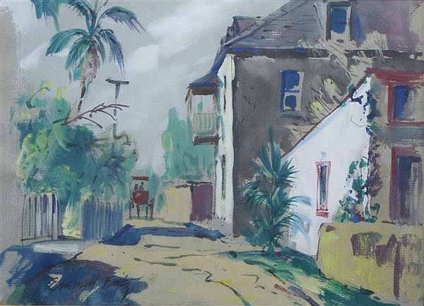 Emmett Fritz, (American, 1917-1995), Florida Scene