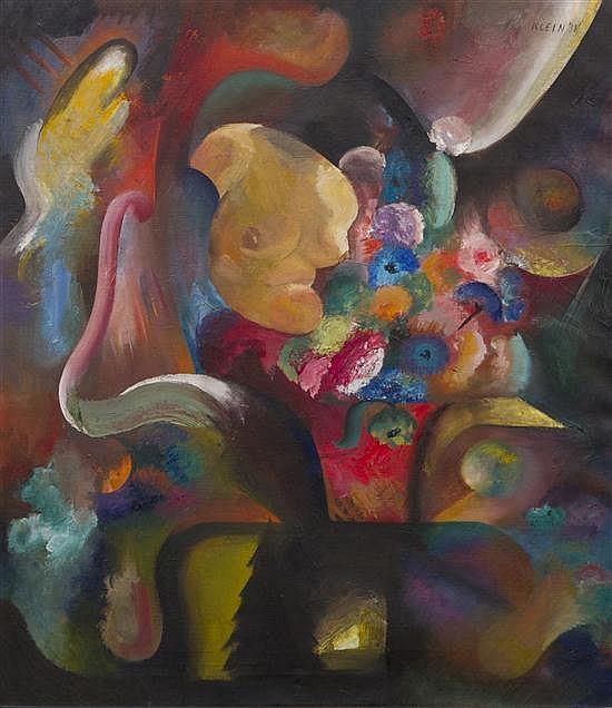 Medard P. Klein, (American, 1905-2002), Still Life with Bust, 1938