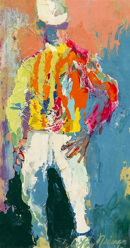 LeRoy Neiman, (American, 1921-2012), Jockey, 1960