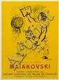 Marc Chagall, (French/Russian, 1887-1985), Homage to Maiakovski, 1963