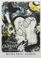 Marc Chagall, (French/Russian, 1887-1985), Moses and the Tablets of the Law, 1962