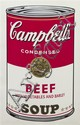 * Andy Warhol, (American, 1928-1987), Beef with Vegetables and Barley (from Campbell's Soup I), 1968