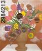Jonathan Borofsky, (American, b. 1942), Flowers No. 2