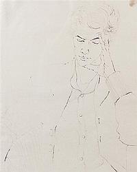 Arthur Thrall, (American, b. 1926), Kathy, 1958