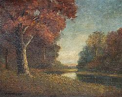 William John Krullaars, (American, 1878-1945), At Twilight