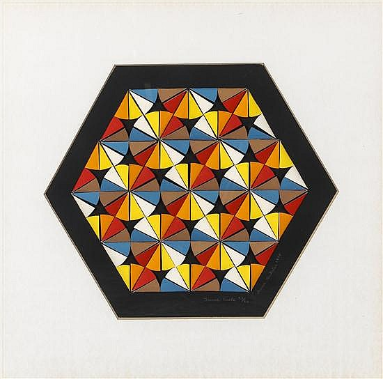 Anne Youkeles, (American, 20th century), Inner Circle, 1975
