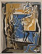 Ossip Zadkine, (French/Russian, 1890-1967), Marionettes
