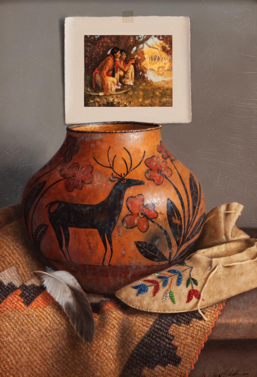 William Acheff (American, b. 1947) Deer Hunter, 2000