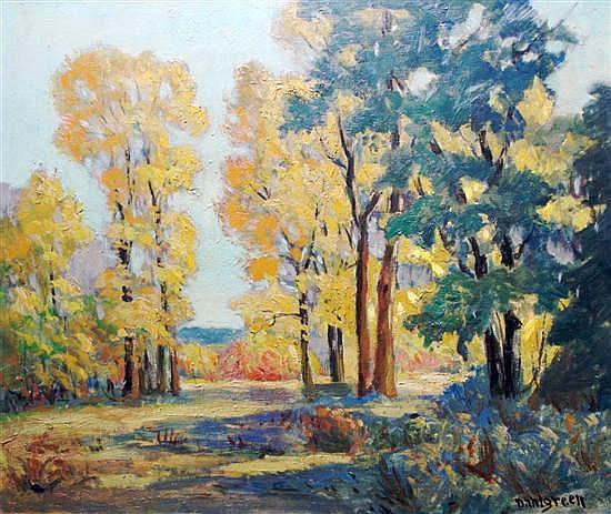 Charles W. Dahlgreen, (American, 1864-1955), Fall Landscape