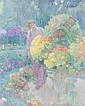 *Octave Denis Victor Guillonnet, (French, 1872-1967), Capucines, Octave Denise Victor Guillonnet, Click for value