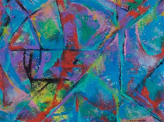 Arturo Carmassi, (Italian, b. 1925), Abstract Composition