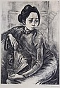 *Marion Greenwood, (American, 1909-1970), New Years Eve, Eastern Memory, Fringed Scarf and Hong Kong Girl, Carib Girl, Folk Signer, Car, Marion Greenwood, Click for value