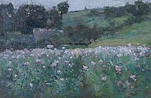 * John Wilton Cunningham, (American, 1868-1903), Landscape