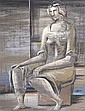 Richard Koppe, (American, 1916-1973), Untitled (Seated Woman), circa 1945, Richard Koppe, Click for value