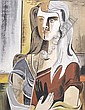 Richard Koppe, (American, 1916-1973), Untitled (Seated Woman), circa 1946, Richard Koppe, Click for value