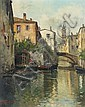 Ercole Magrotti, (Italian, 1890-1967), Venetian Canals, Ercole Magrotti, Click for value