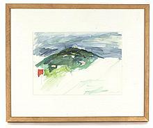 Connie Fox, (American, b. 1925), Green Mountain