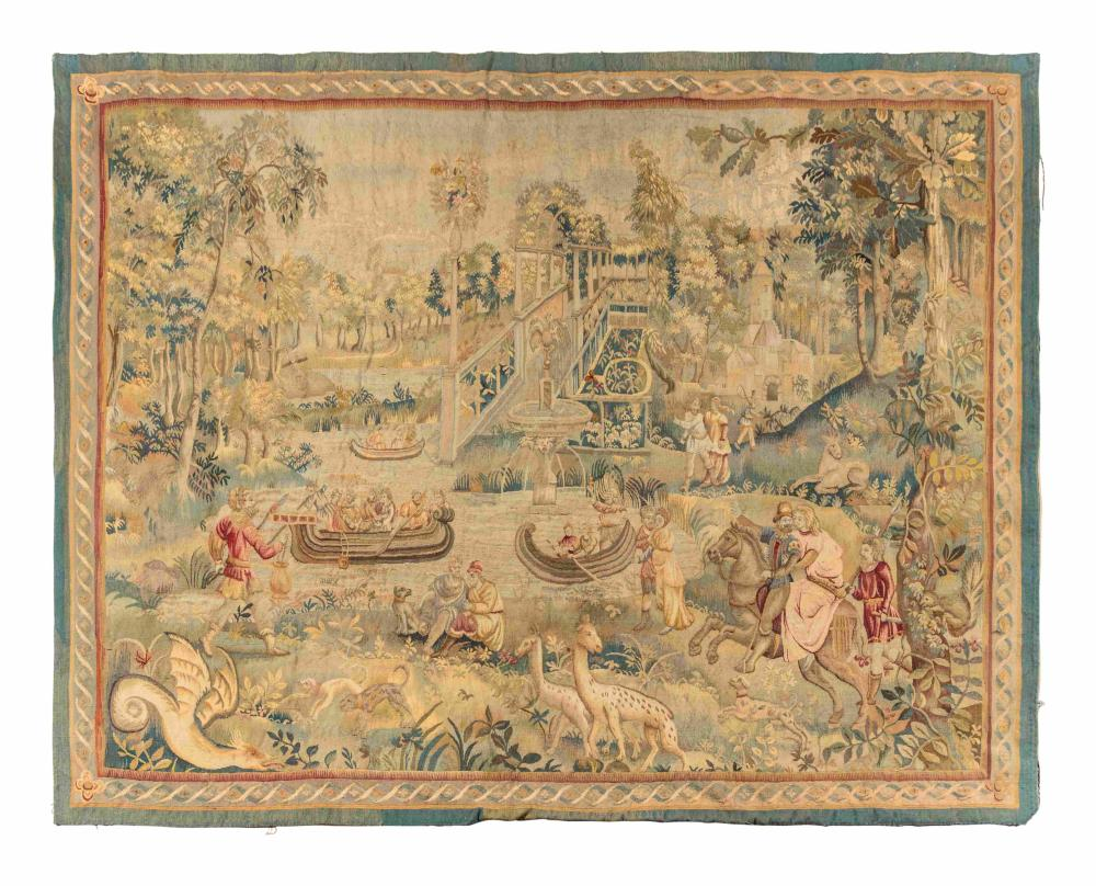 A Flemish Wool Tapestry