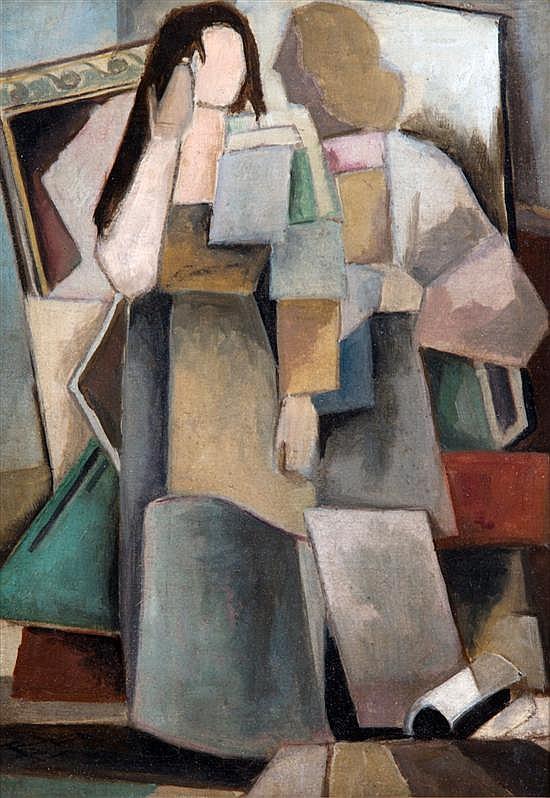 Eberhard Viegener, (German, 1890-1967), Untitled, 1946