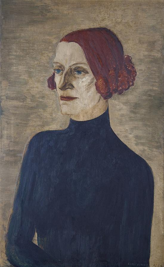 Gertrude Abercrombie, (American, 1909-1977), Untitled (Portrait)