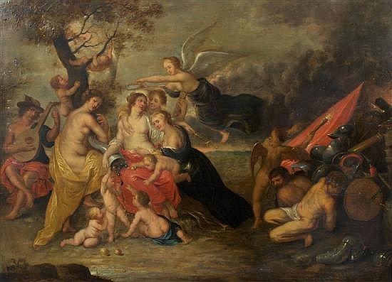 Jan van Balen, (Flemish, 1611-1654), Allegory of the Gods