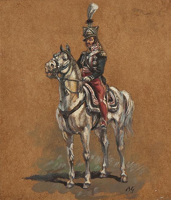 Bronislaw Gembarzewski, (Polish, 1872-1941), Mounted Soldier