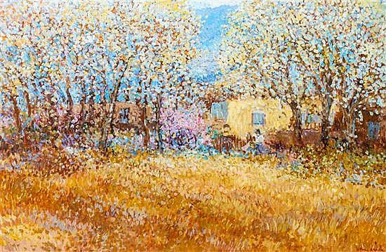 Dane Clark, (American, b. 1934), New Mexico Landscape