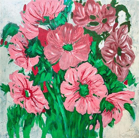 Alzada Knutson, (American, 1894-1987), Poppies