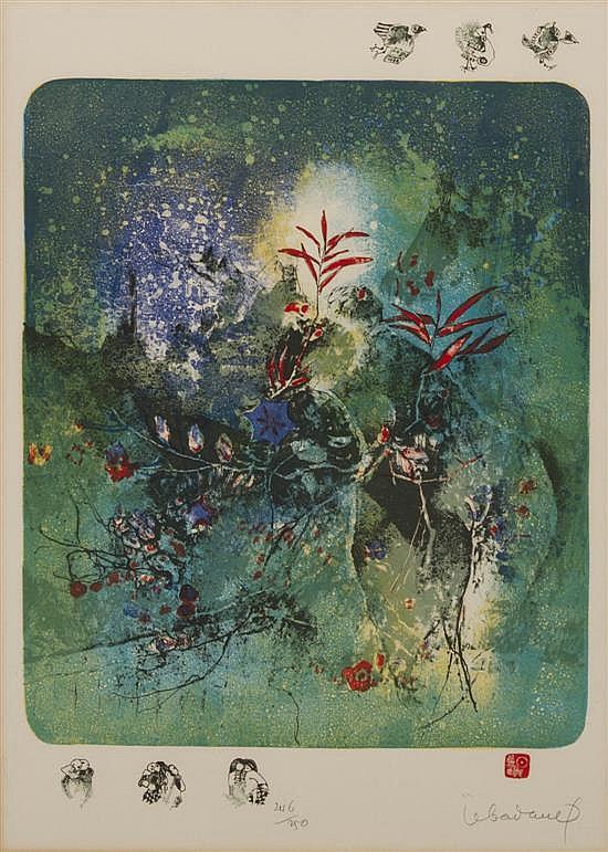 * Le Ba Dang, (Vietnamese, b. 1922), Flowers