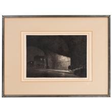 Martin Lewis (American, 1881-1962) Arch, Midnight, 1930