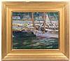 * Ethel V. Ashton, (American, 1896-1975), Boothbay Harbor, Maine, Ethel V Ashton, Click for value