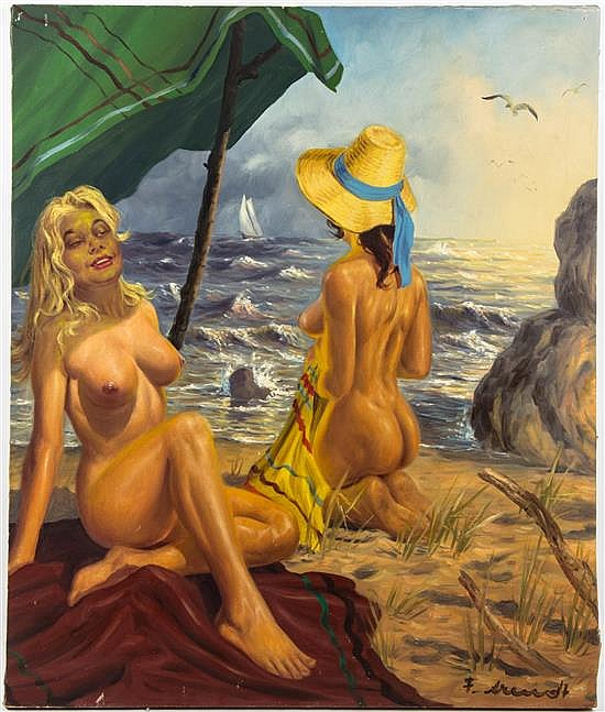 Fred Arendt, (German, b. 1928), Catching Some Rays