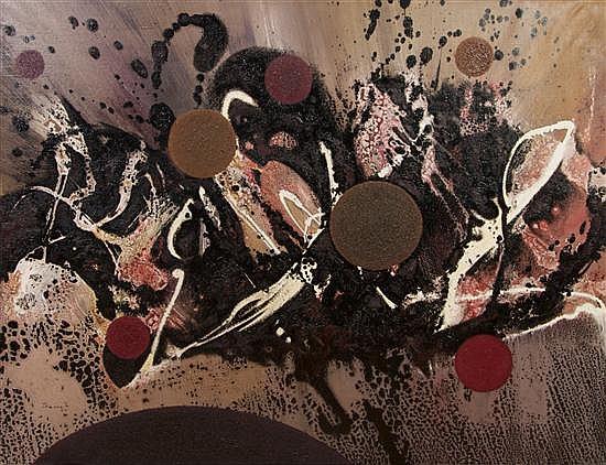 Joan Josep Tharrats, (Spanish, 1918-2001), La Fruite des Galaxies, 1964