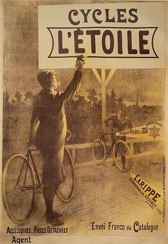 Charles Tichon, (French, 19th/20th Century), Cycles L'etoile