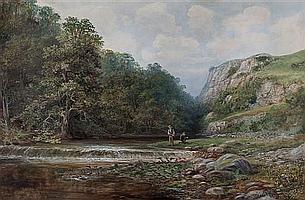 Robert Heard Whale, (Canadian, 1857-1906), Fishing Scene, 1887