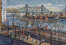 Woldemar Neufeld, (Russian/American, 1909-2002), Beckman Place Park