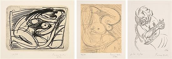 Primo Conti, (Italian, 1900-1988), Untitled (a group of three works)