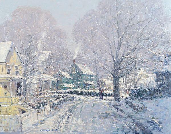 John Terelak, (American, b. 1942), New Snow